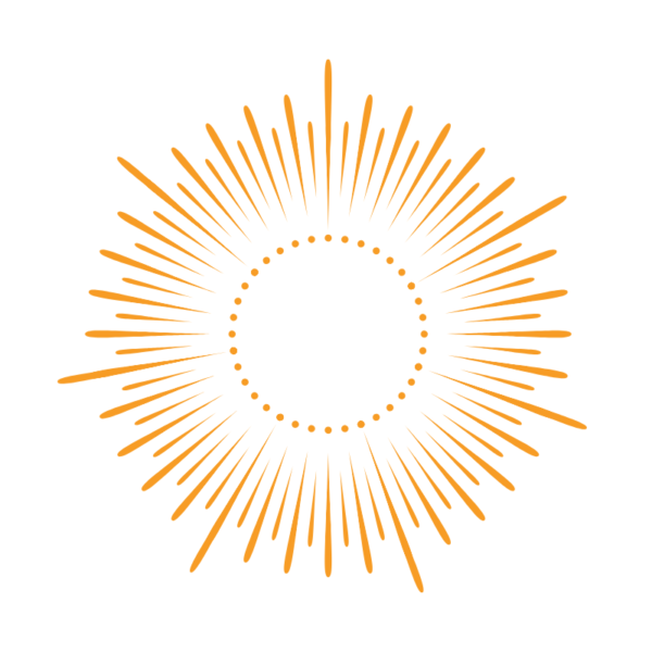 Orange Logo Image of the Sun